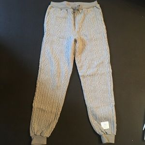 Thom Browne Classic Cable Embroidery Sweatpant